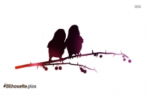 Black Grouse Silhouette Free Vector Art