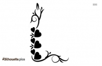 Love Border Silhouette Picture