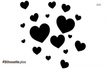 Love Heart Silhouette Image