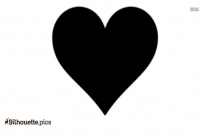 Heart Emoji Silhouette Picture