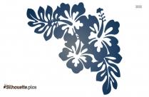 Zinnia Flower Plant Silhouette