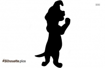 Pitbull Dog Png Silhouette