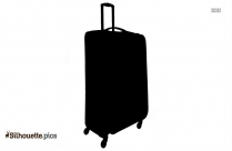 Luggage Silhouette Image