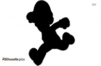 Fire Flower New Super Mario Bros The Silhouette