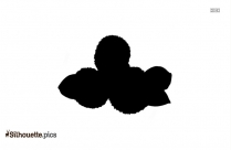 Lychee Silhouette PNG