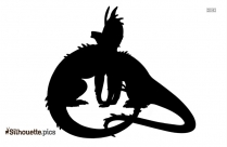 Cartoon Dinosaurs Clipart | Cute Dinosaur Love Silhouette