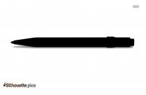 Machine Ball Pen Clipart Silhouette