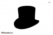 Magician Cap Silhouette Illustration