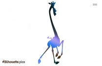 Madagascar Giraffe Silhouette