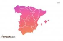 Madrid Spain Silhouette Illustration