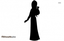 Cinderella Silhouette Painting