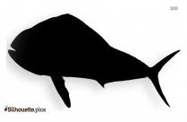 Porpoise Fish Silhouette Clip Art