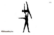 Majestic Artists Aerial Dance Cirque Style Silhouette