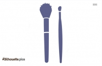 Makeup Brush Silhouette Picture