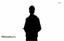 Free Construction Worker Silhouette