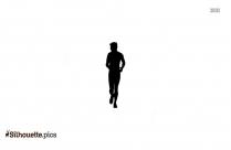 Male Jogger Silhouette