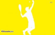Badminton Shuttlecock Silhouette, Shuttlecock Background Image