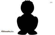 Red Jay Clip Art, Silhouette