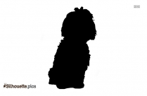 Dog Jumping Illustration Silhouette