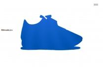 Footwears For Men Silhouette Image