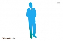 Man Standing Alone Silhouette Vector And Graphics