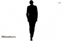 Man Walking Silhouette Picture