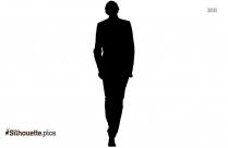 Man Walking Silhouette Drawing