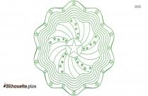 Black Mandala Designs Silhouette Image