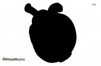 Apple Silhouette Clip Art