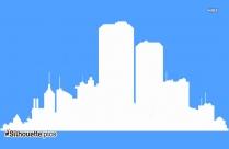 Atlanta Skyline Silhouette Clipart Image