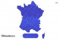 Map Of France Silhouette