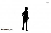 Marathon Runner Silhouette Art