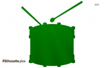 Free Snare Drum Silhouette