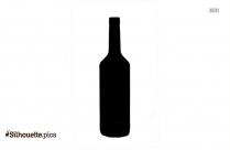 Empty Glass Bottle Silhouette