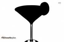 Cuba Libre Drink Silhouette For Download