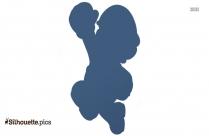 Clipart Of Super Mario Plunger Silhouette
