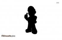 King Koopa Mii Silhouette Clip Art