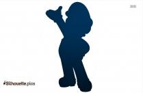 Mario Clipart Pose Silhouette