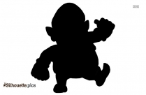Mario Plumber Silhouette Clipart