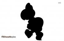 Tanooki Suit Mario Silhouette