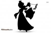 Mario Plumber Silhouette Free Vector Art