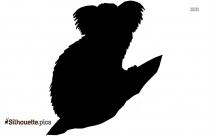 Ape And Baby Ape Clip Art, Silhouette
