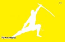 Brazilian Jiu Jitsu Martial Art Outline Drawing