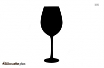 Martini Glass Silhouette Image For Free Download