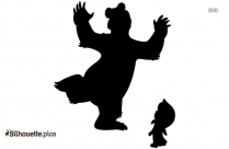 Snoopy Dancing Silhouette