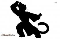 Master Tigress Silhouette