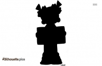 Baby Reading Silhouette