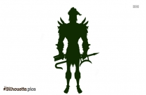 Maui God Silhouette Free Vector Art