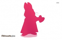 Max And Ruby Silhouette Vector Image