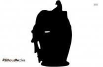 Cartoon Pottery Designs Silhouette